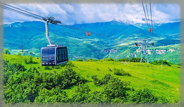 канатная дорога «Крылья Татева» - Армения