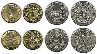 монеты Бутана