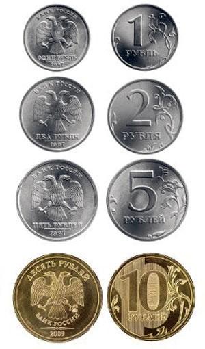 валюта ДНР - монеты