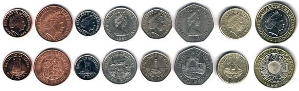 валюта острова Джерси. Монеты