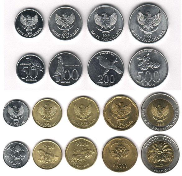 валюта Индонезии // монеты