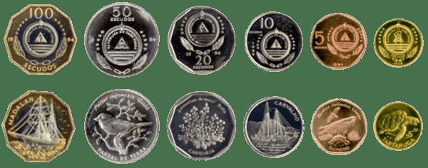 валюта Кабо-Верде - монеты