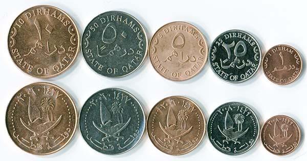 монеты Катара