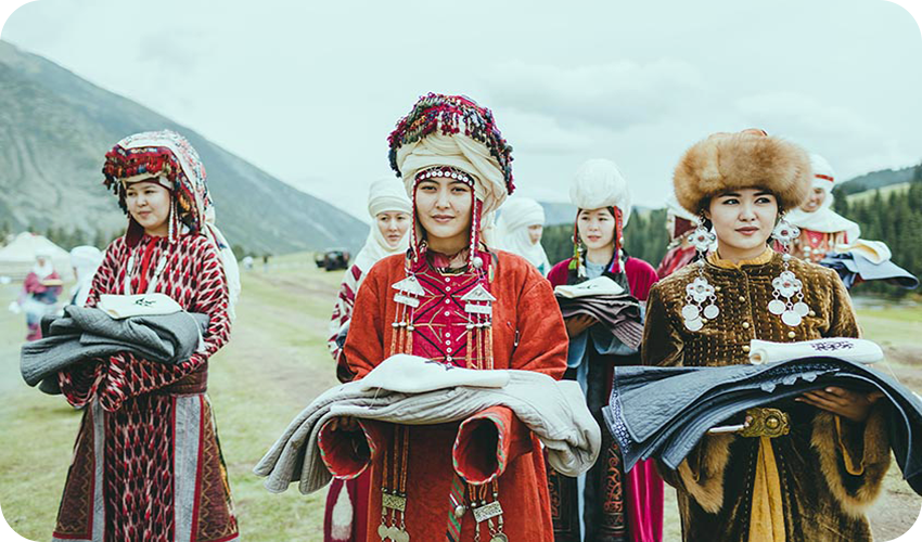 население Киргизии