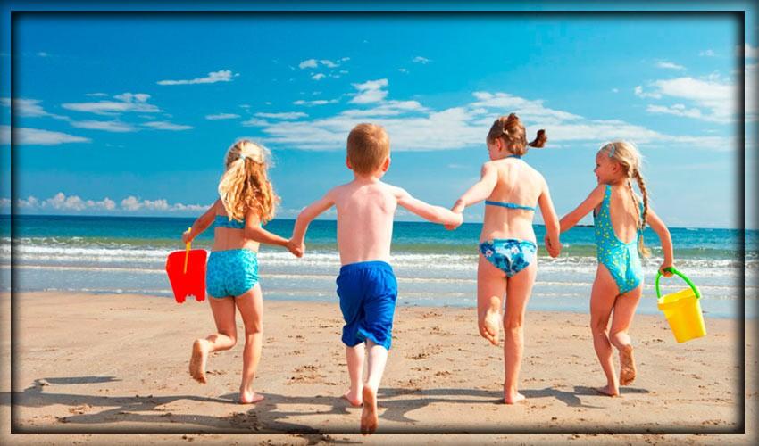 Незабываемый отдых на море с ребенком летом