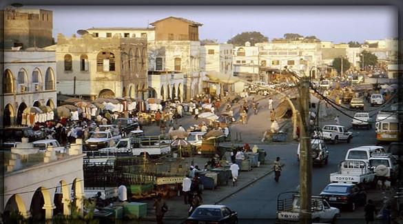 город Джибути - столица Республики Джибути