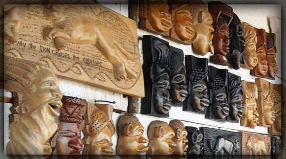Сувениры Ганы