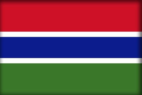 Флаг Гамбии