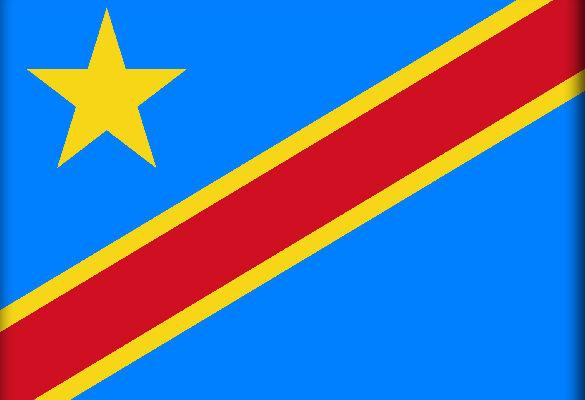 Флаг Демократической Республика Конго