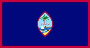 флаг острова Гуам