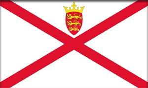 флаг острова Джерси