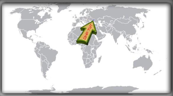 Донецкая Народная Республика (ДНР) на карте мира