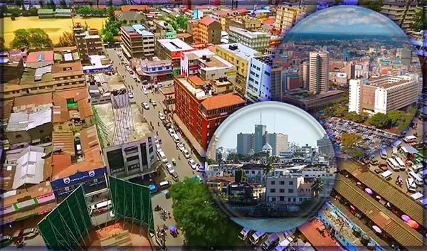 10 крупнейших городов Кении