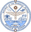 герб Маршалловых Островов
