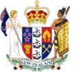герб Новой Зеландия