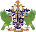 герб Сент-Люсии