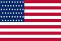 Соединенные Штаты Америки флаг
